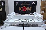 Samsun'da 9 bin bandrolsüz makaron ile kaçak sigara ele geçirildi