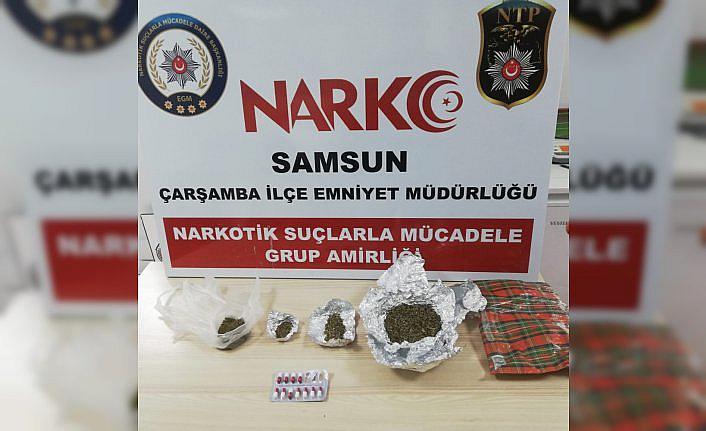 Samsun'da uyuşturucu operasyonunda gözaltına alınan kişi tutuklandı