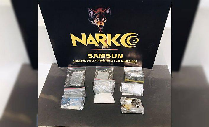 Samsun'da düzenlenen uyuşturucu operasyonunda 3 şüpheli gözaltına alındı