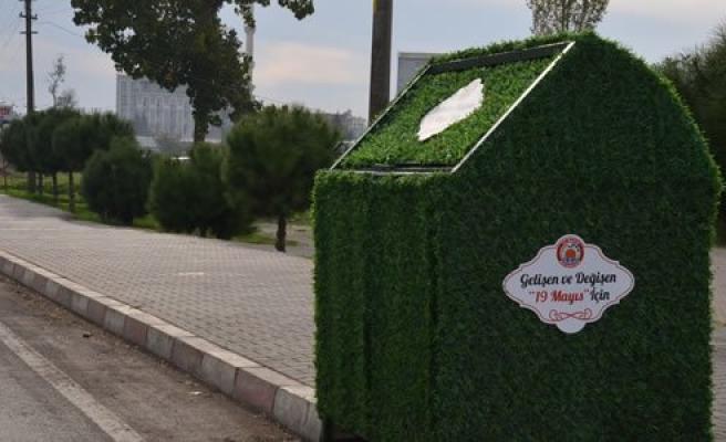 19 Mayıs'ta çöp konteynerleri yenilendi