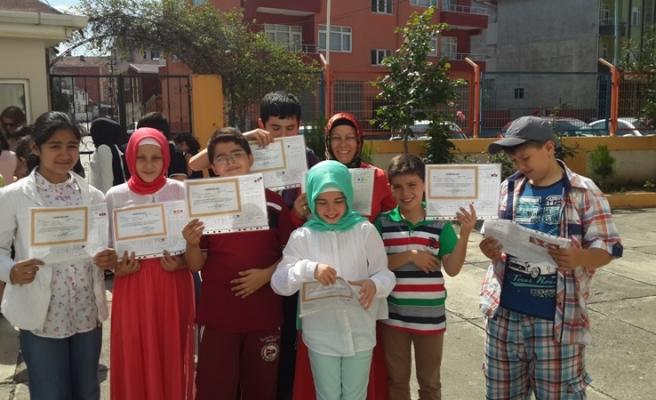 Bafra Kolejinde Karne Günü