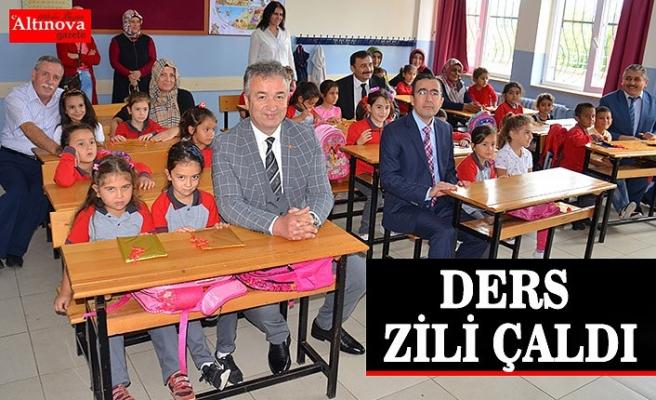 DERS ZİLİ ÇALDI