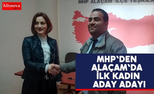 MHP'den Alaçam'da ilk kadın aday adayı