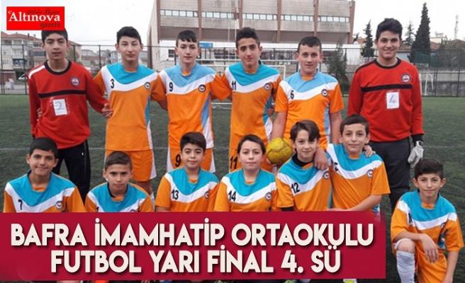 Bafra İmamHatip Ortaokulu Futbol Yarı Final 4. sü