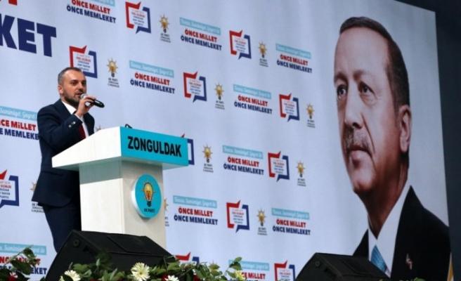 AK Parti Zonguldak Belediye Başkan Adaylarını Tanıtım Toplantısı