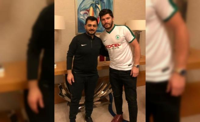 Giresunspor, Cristian Tanase'yi transfer etti