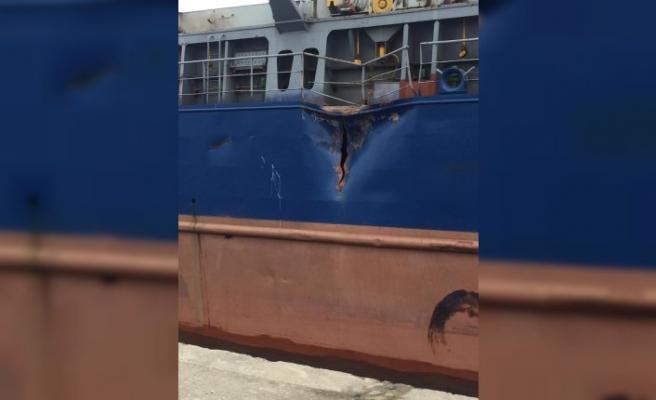 Sinop'taki gemi kazası