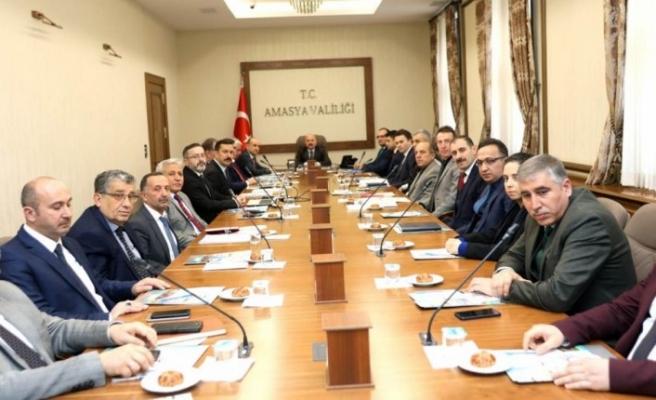 Amasya'da bağımlılıkla mücadele toplantısı