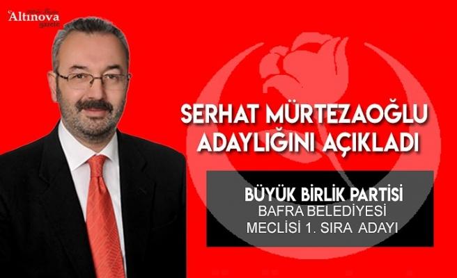 H. Serhat Mürtezaoğlu BBP`den meclis üyesi adayı oldu