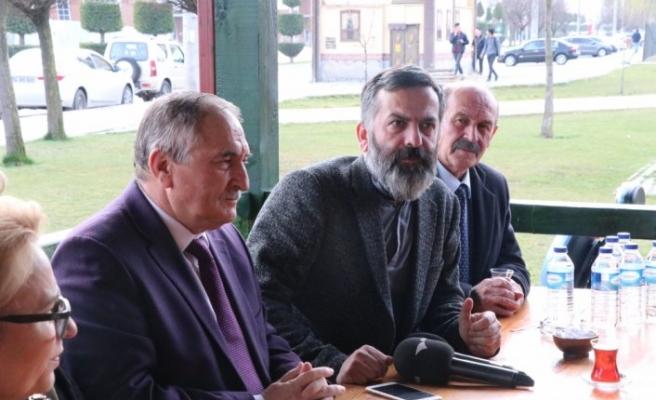 Bolu Belediye Başkanı Yılmaz, BGC'yi ziyaret etti
