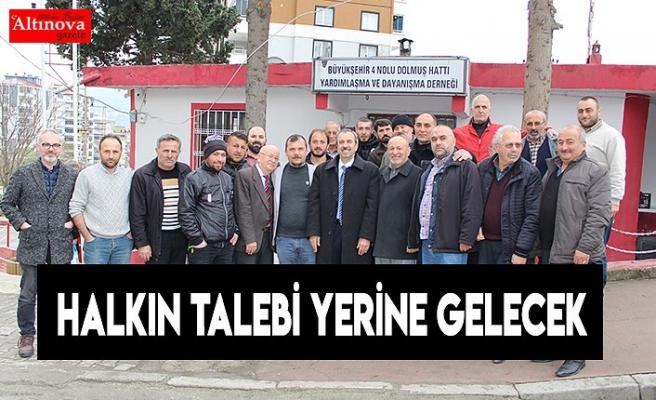 HALKIN TALEBi YERiNE GELECEK