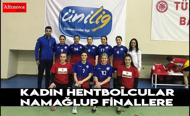 Kadın Hentbolcular Namağlup Finallere