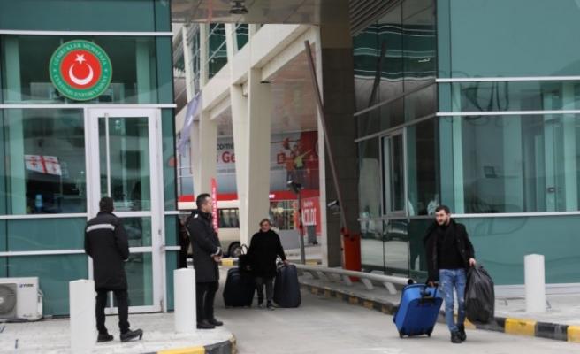 Modernize edilen Sarp Sınır Kapısı yeni yüzüyle hizmete girdi