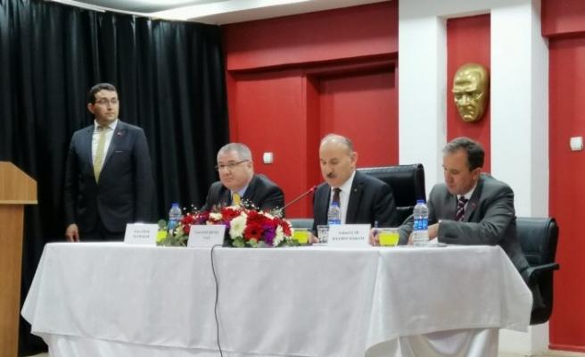 Vali Karadeniz Hanönü'de halk toplantısına katıldı
