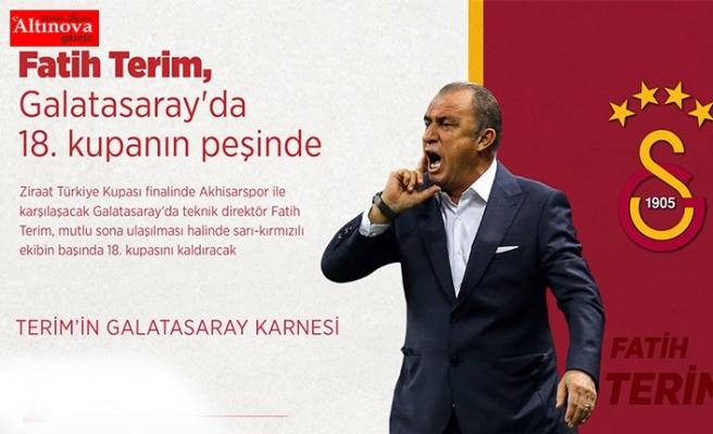 Fatih Terim, Galatasaray'da 18. kupanın peşinde