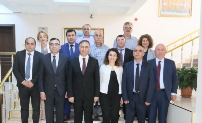 Acara Tarım Bakanı Aroshidze Sinop'ta
