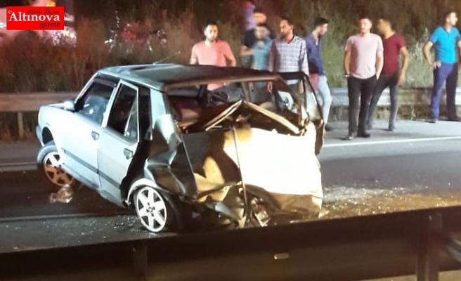 Bayram'da Trafik Canavarı Can Aldı