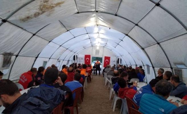 Tokat'ta 150 kişiye oryantiring eğitimi verildi