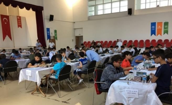Çarşamba'da Elo Satranç Turnuvası düzenlendi