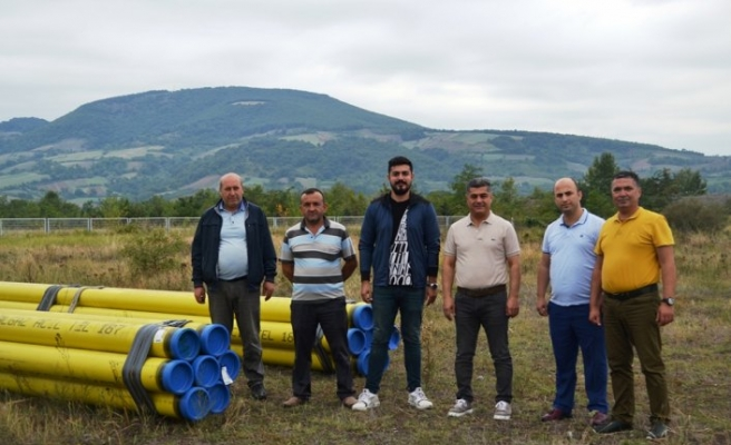 Bafra OSB'de doğal gaz altyapı çalışmaları başladı
