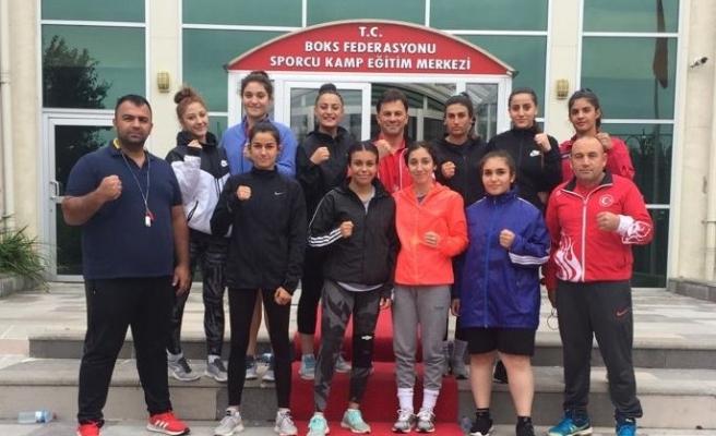 Genç Kız Boks Milli Takımı'nın Kastamonu kampı başladı