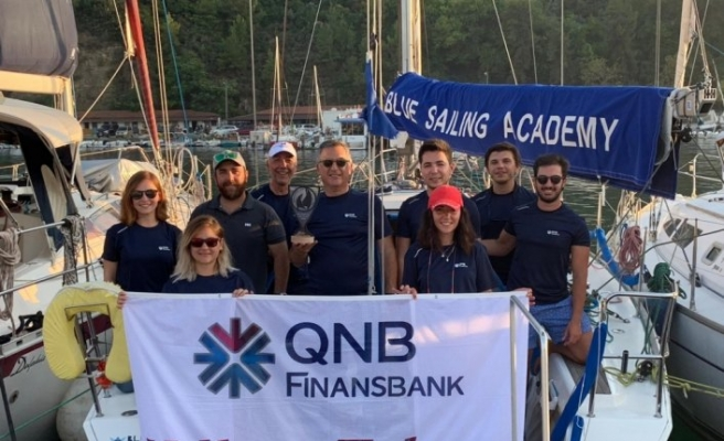 QNB Finansbank Yelken Takımı'ndan Olympos Regatta birinciliği