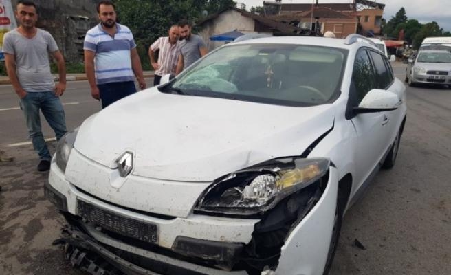 Samsun'da zincirleme trafik kazası: 7 yaralı