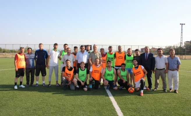 Suluova Belediyesi Futbol Turnuvası başladı