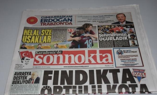 Trabzon yerel basınında AEK galibiyeti