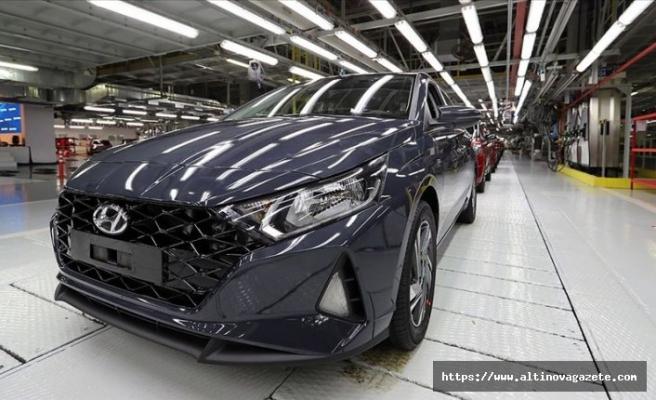 Yeni Hyundai i20'nin Türkiye'de üretimine başlandı