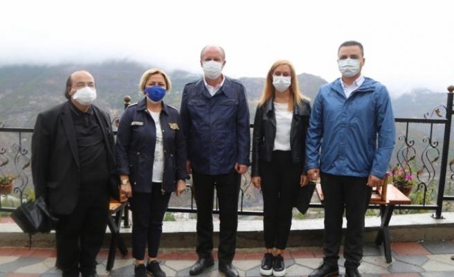 Eski CHP Milletvekili Muharrem İnce Artvin'i ziyaret etti