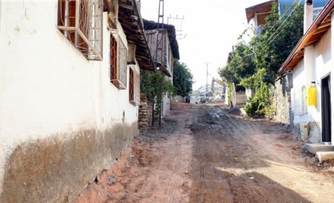 Tokat'ta yol düzenleme çalışması