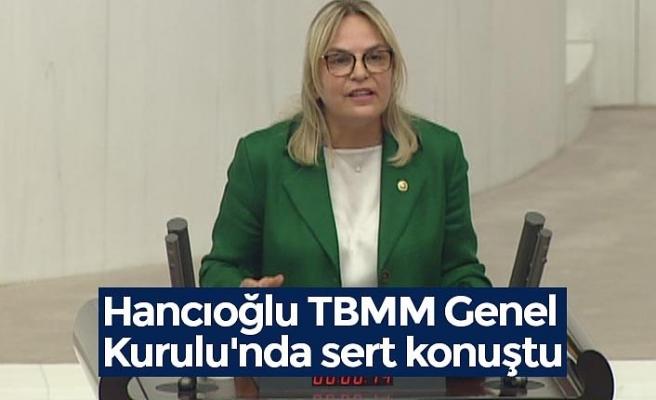 Hancıoğlu TBMM Genel Kurulu'nda sert konuştu