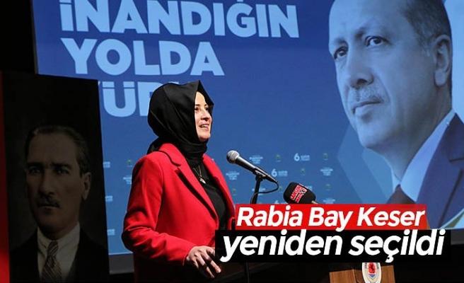Rabia Bay Keser yeniden seçildi