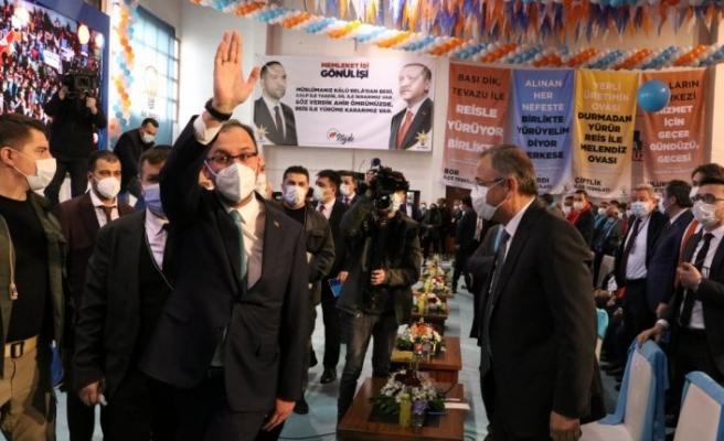 Gençlik ve Spor Bakanı Kasapoğlu, AK Parti Niğde İl Kongresi'nde konuştu:
