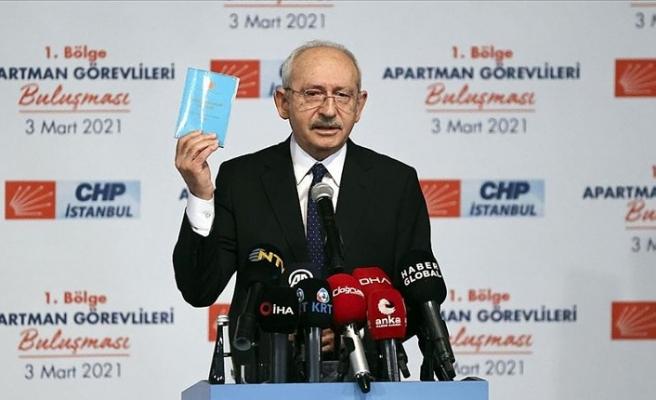 CHP Genel Başkanı Kılıçdaroğlu: Demokrasilerde örgütlenmek önemlidir