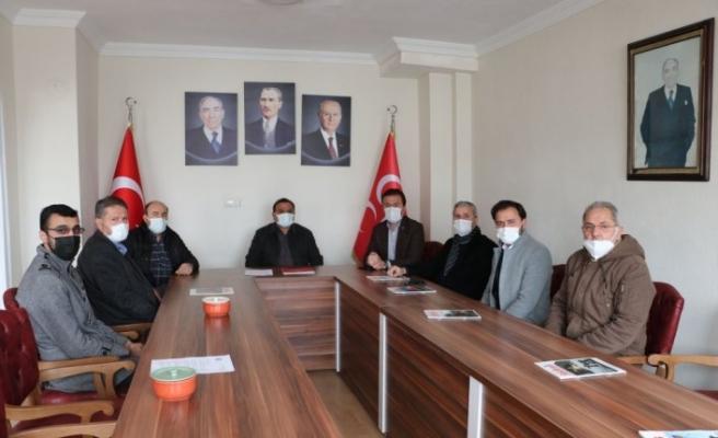 AK Parti Havza İlçe Başkanı Kadir Kayan'dan MHP'ye taziye ziyareti