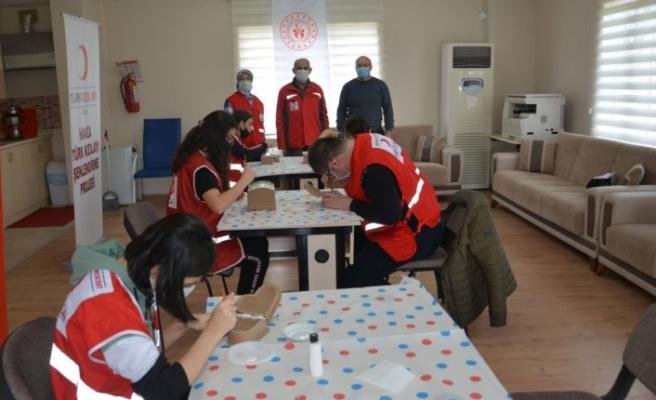 Havza'da Kızılay Şenlendirme Projesi kapsamında engelliler için etkinlik düzenlendi
