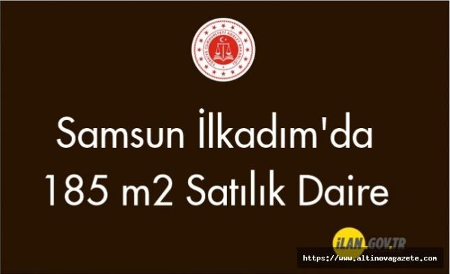Samsun İlkadım'da 185 m2 satılık daire