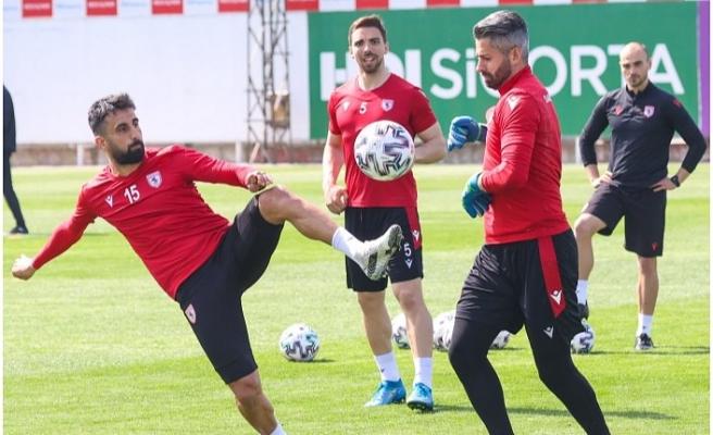 Samsunspor'da Balıkesirspor Maçı Hazırlıkları Sürüyor