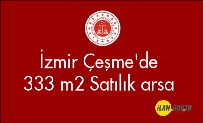 İzmir Çeşme'de 333 m² arsa satılıktır