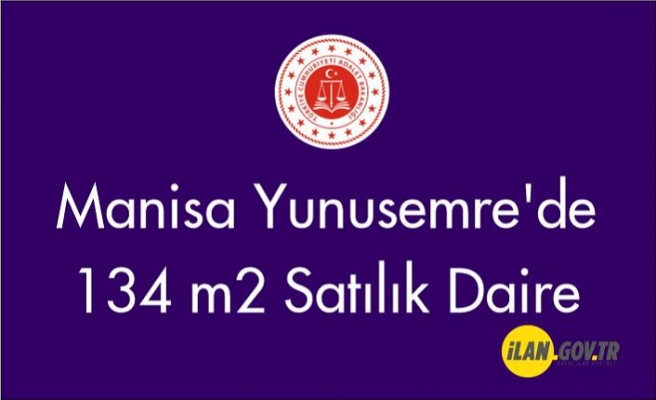 Manisa Yunusemre'de 134 m2 daire Satılık