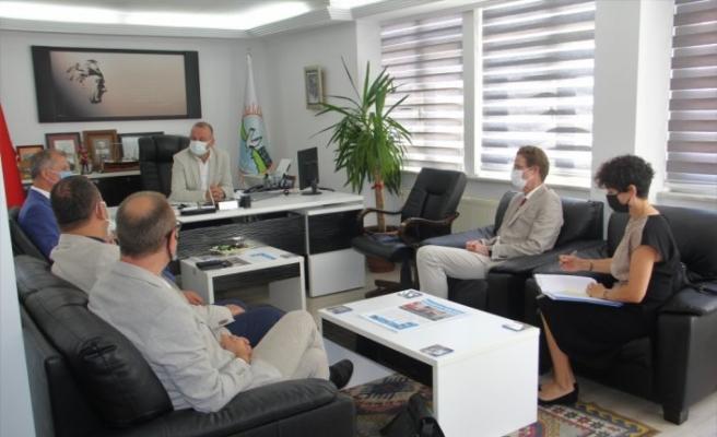 AB Büyükelçisi Meyer-Landrut, Sinop'ta ziyaretlerde bulundu