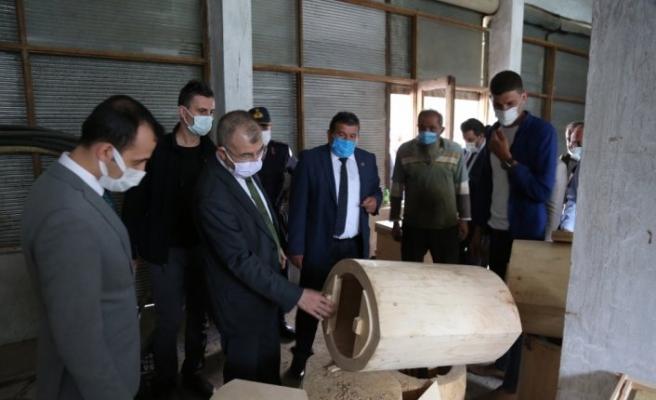Artvin Valisi Doruk, Borçka'da ziyaretlerde bulundu