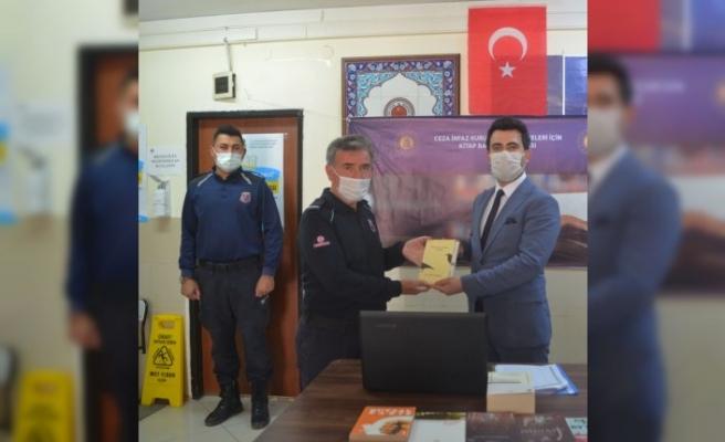 Merzifon'da hükümlü ve tutuklular için kitap bağışı kampanyası başlatıldı