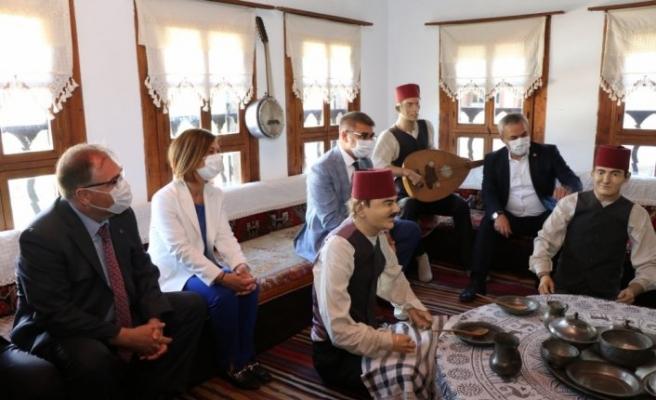 Safranbolu'da restorasyonu tamamlanan Kaymakamlar Gezi Evi açıldı