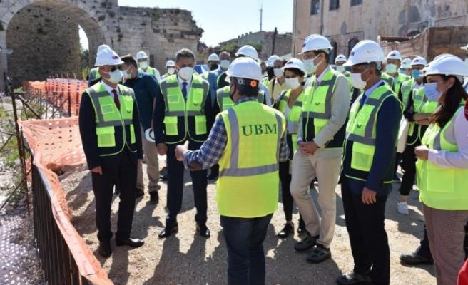 Sinop Tarihi Cezaevi ve Müzesi'ndeki restorasyon çalışmalarının  yüzde 24'lük kısmı tamamlandı