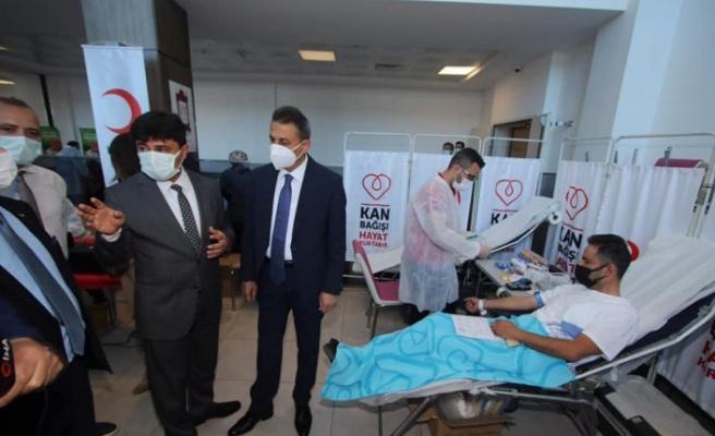Sinop'ta Türk Kızılay kan bağışı kampanyası başlattı