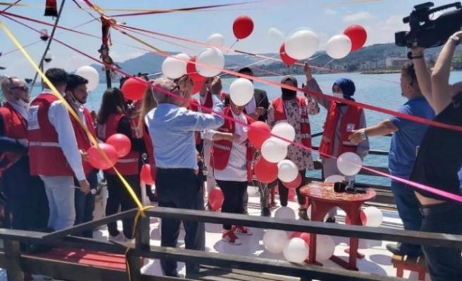 Ünye'de Türk Kızılay'ının 153. kuruluş yıl dönümünü kutlandı