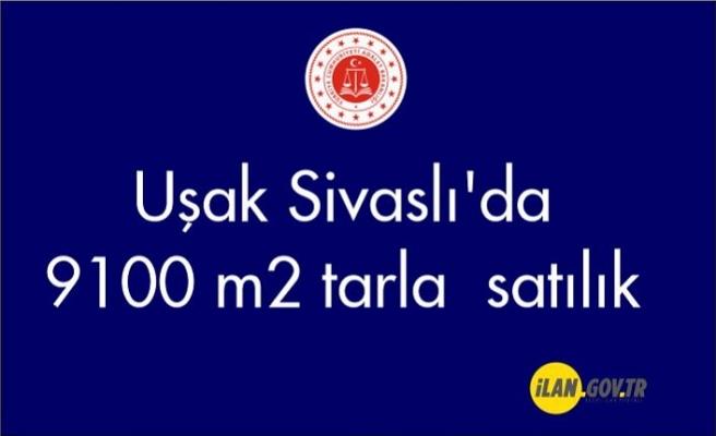 Uşak Sivaslı'da 9100 m² tarla Satılık